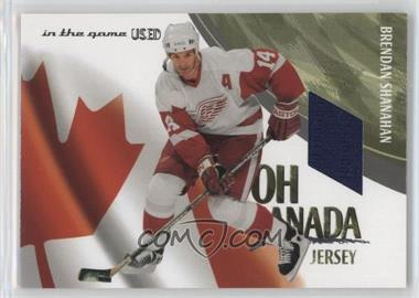 2003-04 In the Game-Used Signature Series - Oh Canada Jersey - Silver #OCJ-13 - Brendan Shanahan /50