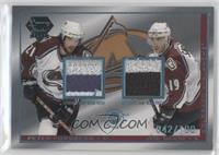 Peter Forsberg, Joe Sakic /100