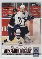 outlet store 4ae82 0dc42 Alexander Mogilny Toronto Maple Leafs Hockey Cards