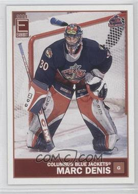 2003-04 Pacific Exhibit - [Base] #42 - Marc Denis