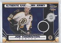 Game-Worn Jersey - Joe Thornton /90