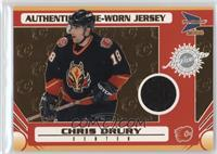 Game-Worn Jersey - Chris Drury #/935