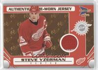 Game-Worn Jersey - Steve Yzerman /185