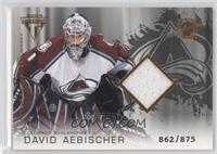 Authentic Game-Worn Jersey - David Aebischer /875