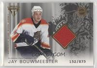 Authentic Game-Worn Jersey - Jay Bouwmeester /875