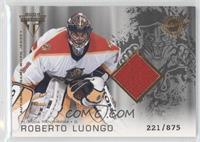 Authentic Game-Worn Jersey - Roberto Luongo #/875
