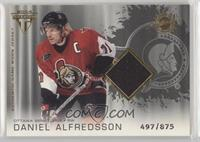Authentic Game-Worn Jersey - Daniel Alfredsson #/875