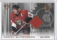 Authentic Game-Worn Jersey - Daniel Alfredsson /875