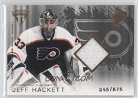 Authentic Game-Worn Jersey - Jeff Hackett /875