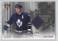 Authentic Game-Worn Jersey - Gary Roberts /835