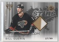 Authentic Game-Worn Jersey - Bill Guerin #/99