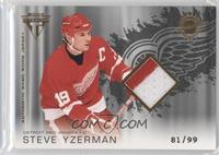 Authentic Game-Worn Jersey - Steve Yzerman /99