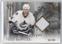 Authentic Game-Worn Jersey - Todd Bertuzzi #/99