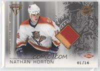 Authentic Game-Worn Jersey - Nathan Horton /16