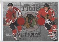 Stan Mikita, Tony Amonte