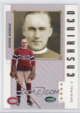 2003-04 Parkhurst Original Six Montreal Canadiens - [Base] #81 - Howie Morenz
