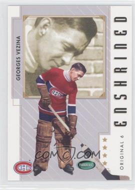 2003-04 Parkhurst Original Six Montreal Canadiens - [Base] #82 - Georges Vezina