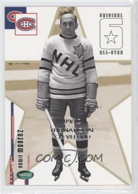 2003-04 Parkhurst Original Six Montreal Canadiens - National Convention Cleveland [Base] #61 - Howie Morenz /10