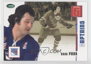 2003-04 Parkhurst Original Six New York Rangers - [Base] #80 - Brad Park