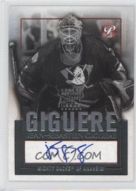 2003-04 Topps Pristine - Personal Endorsements #PE-JG - Jean-Sebastien Giguere