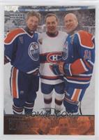 Wayne Gretzky, Mark Messier, Guy Lafleur