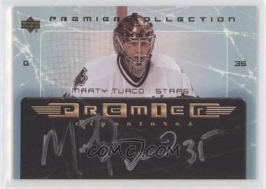 2003-04 Upper Deck Premier Collection - Premier Signatures #PS-MT - Marty Turco