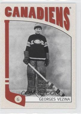 2004-05 In the Game Franchises Canadian Edition - [Base] - The National Chicago #44 - Georges Vezina /10