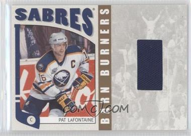 2004-05 In the Game Franchises US East Edition - Barn Burners Materials - Gold #EBB-09 - Pat LaFontaine /20