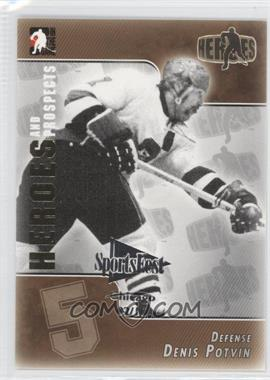 2004-05 In the Game Heroes and Prospects - [Base] - SportsFest Chicago #141 - Dene Poulin /10