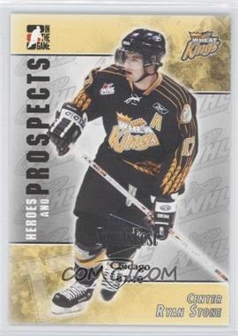 2004-05 In the Game Heroes and Prospects - [Base] - SportsFest Chicago #214 - Ryan Stone /10
