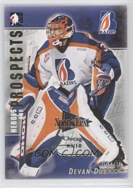 2004-05 In the Game Heroes and Prospects - [Base] - SportsFest Chicago #71 - Devan Dubnyk /10