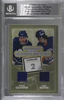 Doug Gilmour, Mike Bossy [BGS Encased] #/25