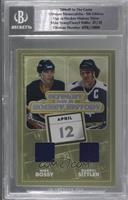 Mike Bossy, Darryl Sittler [Uncirculated] #/25