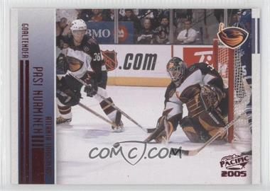 2004-05 Pacific - [Base] - Red #14 - Pasi Nurminen