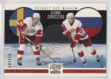 2004-05 Pacific - Global Connection #5 - Henrik Zetterberg, Pavel Datsyuk