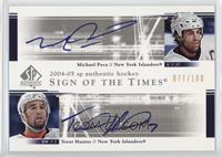 Michael Peca, Trent Hunter /100