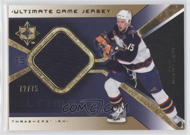 2004-05 Ultimate Collection - Ultimate Game Jersey - Limited #UGJ-DH - Dany Heatley /75