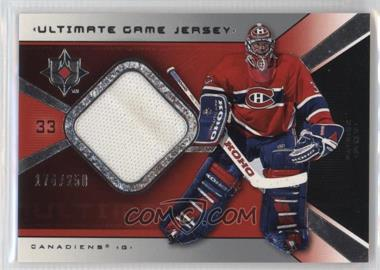 2004-05 Ultimate Collection - Ultimate Game Jersey #UGJ-PR2 - Patrick Roy /250
