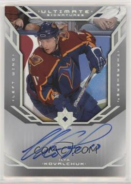 2004-05 Ultimate Collection - Ultimate Signatures #US-IK - Ilya Kovalchuk