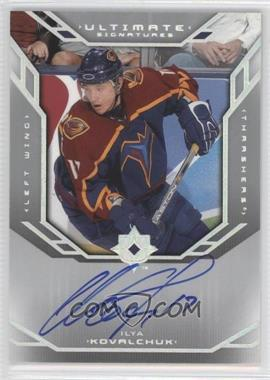 2004-05 Ultimate Collection - Ultimate Signatures #US-IK - Ilya Kovalchuk