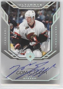 2004-05 Ultimate Collection - Ultimate Signatures #US-SP - Jason Spezza