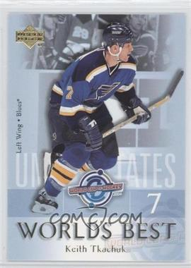 2004-05 Upper Deck - World's Best #WB30 - Keith Tkachuk