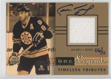 2004-05 Upper Deck Legendary Signatures - Buyback Autographs #TT-CN - Cam Neely /11