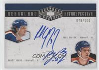 Paul Coffey, Randy Gregg #/100