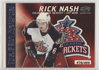 Rick Nash #/499