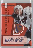 Autographed Prized Prospect Patches - Jakub Klepis /50