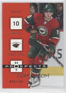 2005-06 Fleer Hot Prospects - [Base] - Red Hot #49 - Marian Gaborik /100