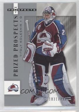 2005-06 Fleer Hot Prospects - [Base] #120 - Vitali Kolesnik /1999