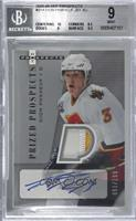 Autographed Prized Prospect Patches - Dion Phaneuf [BGS9MINT] #/199