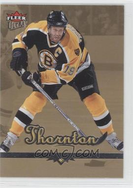 2005-06 Fleer Ultra - [Base] - Gold Medallion #17 - Joe Thornton
